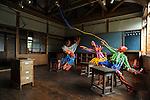 "Hachi & Seizo Tashima Museum of Picture Book Art. Echigo-Matsunoyama Museum of Natural Science ""Kyororo"". Matsudai is the center of Echigo-Tsumari Art Field where every three years a huge art festival is held. Around this area there a hundrerds of pieces of art spread through the territory creating an amazing outdoor museum. Matsudai. Nigata. Japan.<br /> <br /> Hachi & Seizo Tashima Musée du livre d'art. Musée des sciences naturelles Echigo-Matsunoyama ""Kyororo"". Matsudai est le centre du domaine artistique d'Echigo-Tsumari où se tient un grand festival d'art tous les trois ans. Autour de cette zone, des centaines d'œuvres d'art se sont répandues sur le territoire, créant ainsi un incroyable musée en plein air. Matsudai. Nigata. Japon."