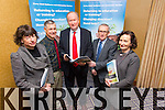 Launch of the ETB Inter-Organizational Presentation on Clients, Trends, Needs, and Recommendations for change at Fels Point Hotel on Friday. L to R Sharon Brown, Rico Stein, Jim Finucan, Colm McEvoy, Ann O'Dwyer