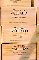 touriga nacional wooden cases quinta do vallado douro portugal