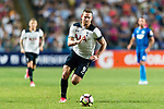 Tottenham Hotspur Forward Vincent Janssen in action during the Friendly match between Kitchee SC and Tottenham Hotspur FC at Hong Kong Stadium on May 26, 2017 in So Kon Po, Hong Kong. Photo by Man yuen Li  / Power Sport Images