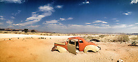Panorama of Solitaire, Namibia