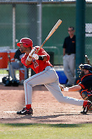 Dwayne Bailey - Los Angeles Angels - 2009 spring training.Photo by:  Bill Mitchell/Four Seam Images