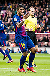 Paulinho Maciel of FC Barcelona gestures during the La Liga 2017-18 match between FC Barcelona and RC Celta de Vigo at Camp Nou Stadium on 02 December 2017 in Barcelona, Spain. Photo by Vicens Gimenez / Power Sport Images