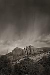Storm over The Rock, near Sedona, Arizona
