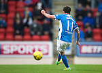 St Johnstone v Hearts…10.08.16..  McDiarmid Park…BetFred Cup<br />Danny Swanson scores for saints<br />Picture by Graeme Hart.<br />Copyright Perthshire Picture Agency<br />Tel: 01738 623350  Mobile: 07990 594431