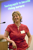 Clare Smale, organiser of a Teaching Expertise conference in Birmingham..