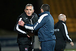 St Johnstone v Ross County…24.10.17…  McDiarmid Park…  SPFL<br />Owen Coyle shakes hands with Callum Davidson at full time<br />Picture by Graeme Hart. <br />Copyright Perthshire Picture Agency<br />Tel: 01738 623350  Mobile: 07990 594431