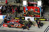 2017 NASCAR Monster Energy Cup - Can-Am Duels<br /> Daytona International Speedway, Daytona Beach, FL USA<br /> Thursday 23 February 2017<br /> Erik Jones, 5-hour ENERGY Extra Strength Toyota Camry pit stop<br /> World Copyright: Russell LaBounty/LAT Images<br /> ref: Digital Image 17DAY2rl_02289