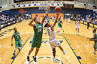 SAN ANTONIO, TX - JANUARY 12, 2019: The University of Texas at San Antonio Roadrunners defeat the University of North Texas Mean Green 76-74 at the UTSA Convocation Center. (Photo by Jeff Huehn)