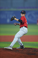 Chase Stryker of Ashley Ridge High School (SC) playing for the Red Sox scout team during the South Atlantic Border Battle Futures Game at Truist Point on September 25, 2020 in High Pont, NC. (Brian Westerholt/Four Seam Images)