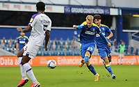 Joe Pigott of AFC Wimbledon shot saved by Dejan Iliev of Shrewsbury Town during AFC Wimbledon vs Shrewsbury Town, Sky Bet EFL League 1 Football at The Kiyan Prince Foundation Stadium on 17th October 2020