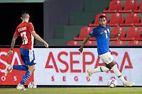8th June 2021; Defensores del Chaco Stadium, Asuncion, Paraguay; World Cup football 2022 qualifiers; Paraguay versus Brazil;   Alex Sandro of Brazil