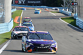 "Monster Energy NASCAR Cup Series<br /> I LOVE NEW YORK 355 at The Glen<br /> Watkins Glen International, Watkins Glen, NY USA<br /> Sunday 6 August 2017<br /> Denny Hamlin, Joe Gibbs Racing, FedEx Freight Toyota Camry, Kasey Kahne, Hendrick Motorsports, Rated Red ""Road to Race Day"" Chevrolet SS<br /> World Copyright: John K Harrelson<br /> LAT Images"