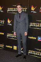 """ATENÇAO EDITOR FOTO EMBARGADA PARA VEICULOS INTERNACIONAIS - MADRI, ESPANHA, 14 NOVEMBRO 2012 - O ator Robert Pattinson durante premiere de """"The Twilight Saga: Breaking Dawn - Part 2"""" em Madrid capital da Espanha, neste sabado, 15. (FOTO: ALFAQUI / BRAZIL PHOTO PRESS)."""