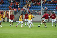 Spieler von Galatasaray waermen sich auf<br /> TSG 1899 Hoffenheim vs. Galatasaray Istanbul, Carl-Benz Stadion Mannheim<br /> *** Local Caption *** Foto ist honorarpflichtig! zzgl. gesetzl. MwSt. Auf Anfrage in hoeherer Qualitaet/Aufloesung. Belegexemplar an: Marc Schueler, Am Ziegelfalltor 4, 64625 Bensheim, Tel. +49 (0) 6251 86 96 134, www.gameday-mediaservices.de. Email: marc.schueler@gameday-mediaservices.de, Bankverbindung: Volksbank Bergstrasse, Kto.: 151297, BLZ: 50960101