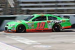 Sprint Cup Series driver Danica Patrick (10) in action during the Nascar Sprint Cup Series practice session at Texas Motor Speedway in Fort Worth,Texas.