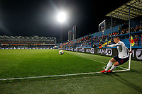 Ross Barkley of England takes a corner  <br /> Podgorica 25-3-2019 <br /> Football Euro2020 Qualification Montenegro - England <br /> Foto Daniel Chesterton / PHC / Insidefoto <br /> ITALY ONLY