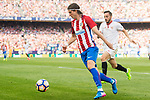 Filipe Luis of Atletico de Madrid in action during their La Liga match between Atletico de Madrid and Sevilla FC at the Estadio Vicente Calderon on 19 March 2017 in Madrid, Spain. Photo by Diego Gonzalez Souto / Power Sport Images