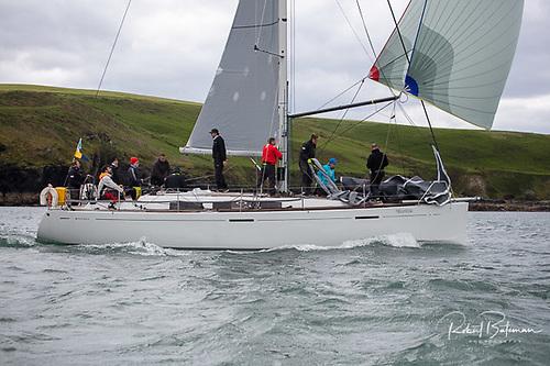 Third overall - Nieulargo (Denis & Annamarie Murphy) are third after three races sailed. Photo: Bob Bateman