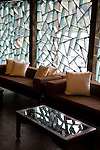 Silks Palace Restaurant at the National Palace Museum, Taipei, Taiwan, window, cut glass, Asia