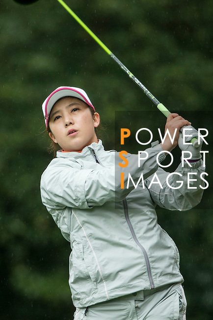 Bo Bea KIM of South Korea tees off at the 14th hole during Round 1 of the World Ladies Championship 2016 on 10 March 2016 at Mission Hills Olazabal Golf Course in Dongguan, China. Photo by Victor Fraile / Power Sport Images