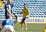 Kilmarnock v St Johnstone……15.08.20   Rugby Park  SPFL<br />David Wotherspoon celebrates his goal<br />Picture by Graeme Hart.<br />Copyright Perthshire Picture Agency<br />Tel: 01738 623350  Mobile: 07990 594431