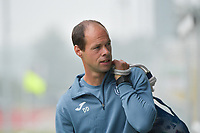 Goalkeeper coach Damien D'Hollander of Anderlecht  pictured during a female soccer game between Club Brugge Dames YLA and RSC Anderlecht on the third matchday of the 2021 - 2022 season of Belgian Scooore Womens Super League , saturday 4 september 2021in Aalter , Belgium . PHOTO SPORTPIX   DIRK VUYLSTEKE