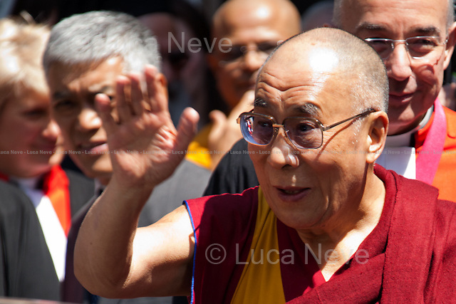 """The Dalai Lama.<br /> <br /> For more pictures on this event click here: <a href=""""http://bit.ly/SPkN5R""""> http://bit.ly/SPkN5R</a>"""