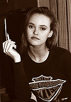 1989 File PhotoMontreal (Qc) CANAD<br /> Vanessa Paradis<br /> Photo (c)  Pierre Roussel / Images Distribution