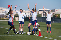 USWNT Training, March 3, 2015