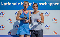 Etten-Leur, The Netherlands, August 27, 2017,  TC Etten, NVK, Winner womans 35+ Regina Balcune (L) and runner up Stéphanie Kuiper<br /> Photo: Tennisimages/Henk Koster