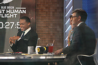 July 20, 2021. TJ holmes, George Stephanopoulos in Good Morning America in New York July 20, 2021 Credit:RW/MediaPunch