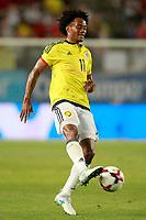 Colombia's Juan Guillermo Cuadrado during international friendly match. June 7,2017.(ALTERPHOTOS/Acero) (NortePhoto.com) (NortePhoto.com)