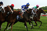 May 24, 2014: Riposte (GB) with Joel Rosario win the Grade II Sheepshead Bay Stakes, for fillies & mares, 4-year olds & up, going 1 3/8 mile at Belmont Park. Trainer: William Mott . Owner: Juddmonte Farms . Sue Kawczynski/ESW/CSM