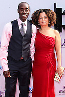 LOS ANGELES, CA - JUNE 30: Don Cheadle and Bridgid Coulter attend the 2013 BET Awards at Nokia Theatre L.A. Live on June 30, 2013 in Los Angeles, California. (Photo by Celebrity Monitor)