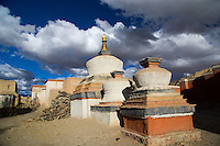 Outside the Tholing Monastery in Western Tibet