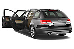 Rear three quarter door view of a 2006 - 2011 Audi A6 ALLROAD QUATTRO Avus 5-Door Wagon 4WD