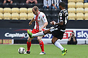 David Gray of Stevenage clears<br />  - Notts County v Stevenage - Sky Bet League One - Meadow Lane, Nottingham - 24th August 2013<br /> © Kevin Coleman 2013