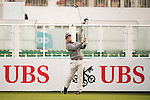 Marcus Armitage of England tees off the first hole during the 58th UBS Hong Kong Open as part of the European Tour on 08 December 2016, at the Hong Kong Golf Club, Fanling, Hong Kong, China. Photo by Marcio Rodrigo Machado / Power Sport Images