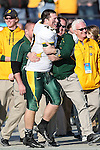North Dakota State Bison tight end Garrett Bruhn (47) in action during the FCS Championship game between the North Dakota State Bison and the Sam Houston State Bearkats at the FC Dallas Stadium in Frisco, Texas. North Dakota defeats Sam Houston 39 to 13..