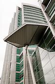 The new University College Hospital, Euston, London, built under the PFI scheme