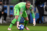 Barcelona Marc-Andre ter Stegen in action during the Uefa Champions League 2018/2019 Group B football match between Internazionale and Barcelona in San Siro stadium, Milano, November, 06, 2018 <br />  Foto Andrea Staccioli / Insidefoto