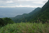 Southwest coast of Atauro Island, seen from Mount Manucoco.  Timor-Leste (East Timor)