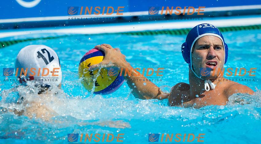 CAN-ITA<br /> Canada Vs Italy<br /> GIACOPPO Massimo ITA<br /> Day 10 02/08/2015<br /> XVI FINA World Championships Aquatics<br /> Waterpolo<br /> Kazan Tatarstan RUS July 24 - Aug. 9 2015 <br /> Photo Pasquale Mesiano/Deepbluemedia/Insidefoto