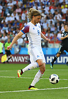 Birkir Bjarnason (Island, Iceland) - 16.06.2018: Argentinien vs. Island, Spartak Stadium Moskau