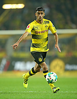 23.09.2017, Football 1. Bundesliga 2017/2018, 6. Match Day, Borussia Dortmund - Borussia Moenchengladbach, im Signal-Iduna-Park Dortmund. Mahmoud Dahoud (Dortmund)  *** Local Caption *** © pixathlon +++ tel. +49 - (040) - 22 63 02 60 - mail: info@pixathlon.de<br /> <br /> +++ NED + SUI out !!! +++