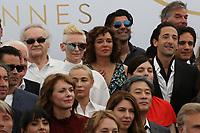COLIN FARREL EMMANUELLE BEART FATIH HAKIN ADRIEN BRODY VALERIA GOLINO AREN ADE SOFIA COPPOLA VALERIE DONZELLI PARK CHAN WOOK GAEL GARCIA BERNAL SALMA HAYEK TILDA SWINTON 70th Anniversary Photocall - The 70th Annual Cannes Film Festival<br /> CANNES, FRANCE - MAY 23
