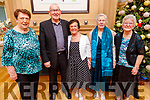 Nora Motherway (Oakpark), John and Ina O'Shea, Mary Switzer (Brendans Park) and Jean Smith (Tralee) enjoying the Club Ide Tea Dance Club afternoon in the Ballygarry House Hotel on Sunday