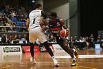 NELSON, NEW ZEALAND -JULY 2: NBL Basketball Mike Pero Nelson Giants v Auckland Huskies ,Trafalgar Centre,Friday 2 July 2021,Nelson New Zealand. (Photo by Evan Barnes Shuttersport Limited)