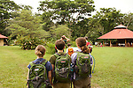 Arriving at Piro Biological Station